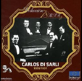 78rpm disk of Carlos Di Sarli